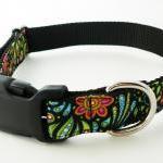 "Dog Collar - ""Cosmic Garden&qu.."