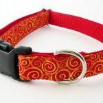 "Dog Collar - ""Sizzle"" wit.."